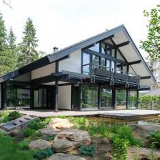 Особенный дом в стиле минимализм в поселке Трувиль