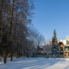 Белоснежный снег в КП Трувиль